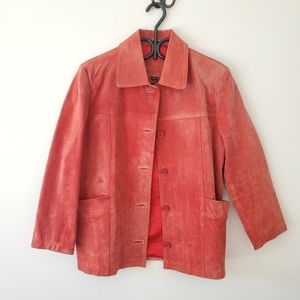 Pink Nuage leather jacket
